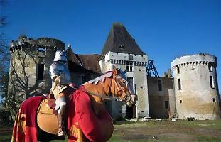 Château of Laxion, Dordogne
